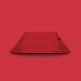 [그라운드커버] 리틀하우스 텐트 - 레드(Red) / 2-3인용 텐트, 미니멀캠핑 텐트, 백패킹, 2인용 텐트, 쉘터, 그늘막 겸용