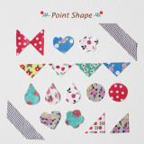 [젠틀웨이브] 데코스티커 포인트 다이어리 캘린더 꾸미기 / Deco Sticker-Point Shape