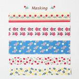 [젠틀웨이브] 데코스티커 레트로 감성 마스킹 테이프 / Deco Sticker-Masking Tape