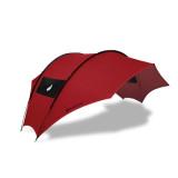 [그라운드커버] 루프하우스 감성타프 - 레드(Red) / 하비타프, 그늘막, 피크닉타프, 4-6인용타프, 디자인타프, 미니멀캠핑, 백패킹 타프치는법 편리한 타프 추천