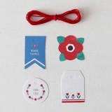 [젠틀웨이브] 미니기프트 태그,라벨 선물포장 / Mini Gift Tags