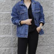 여자 간절기 청자켓 (2color)