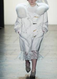 [해외] 여성 떡볶이 코트 2017 가을 겨울 신상품 유럽과 미국 스타일
