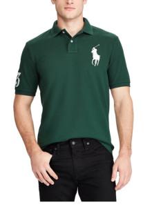 랄프로렌 폴로 티셔츠 클래식 핏 메쉬 - NORTHWEST PINE