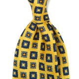 EUCLID PATTERN SILK PRINTED TIE 6TH