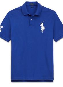 랄프로렌 폴로 티셔츠 클래식 핏 메쉬 - SPORTING ROYAL