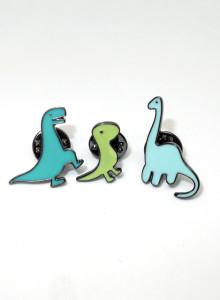 ※추가/재입고 [핀뱃지] 공룡 뱃지 시리즈 Dinosaur Badge Series