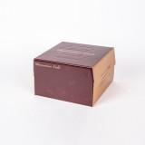 쉬폰 케익박스 2호 (초코) (케익상자/케익박스/케익포장/cake box/케이크 상자/케이크 박스/케이크 포장)