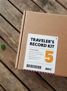 TRAVELER'S RECORD KIT - 트레블러스 레코드 키트