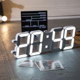 셀프인테리어 LED 벽걸이시계 화이트 탁상등 무드등