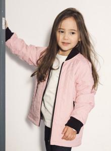 봉봉 퀼팅자켓 (핑크/네이비)