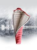 (오늘하루특가) 로벤스 코카서스 구스다운 거위털침낭 동계 캠핑