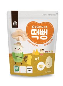 도담도담 유기농 떡뻥 백미
