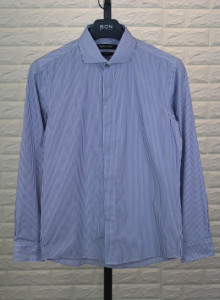 BON 런던 스트라이프 와이드카라 셔츠 GF6FBA501