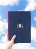 [DESIGN13651] 2018 Enregistrer diary (날짜형)