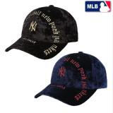 [MLB]엠엘비 2종 택1 고딕아치로고 벨로아 조절커브캡 MLB 모자 32CPKM741