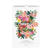[라이플페이퍼]2018캘린더 (Rifle paper)2018 Inspirational Quote Calendar