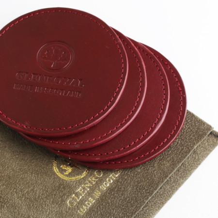[글렌로얄]Glenroya Bridle Leather Coaster Set of 4(세트 구매 페이지)
