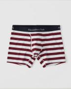 [미국] 아베크롬비 남자팬티 Abercrombie & Fitch - BOXER BRIEF Burgundy Stripe