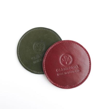 [글렌로얄]Glenroya Bridle Leather Coaster