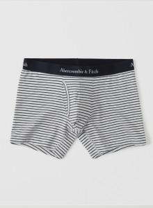 [미국] 아베크롬비앤피치 남자팬티 Abercrombie & Fitch - BOXER BRIEF Light Grey Stripe