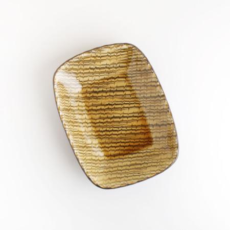 [Takehiro Ito] 이토 타케히로 슬립웨어 22cm 직사각형 그릇