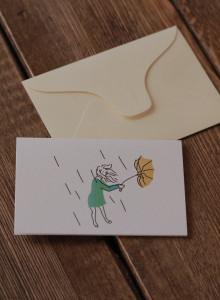 [미니 일러스트 카드] be OK!