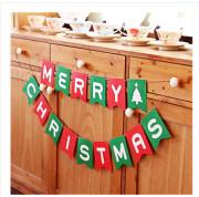 크리스마스가랜드/크리스마스벽장식/크리스마스종이가랜드