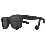 시선비콘1-1) 골전도안경/골전도블루투스이어폰(무광블랙/블랙/블랙/스모그편광선글라스)
