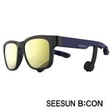 12-4)스마트글라스SEESUN B:CON-10 (시선 비콘) 유광블랙/네이비/블랙/골드미러편광선글라스 골전도헤드셋/골전도블루투스이어폰/골전도이어폰/진동이어폰