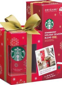 [선물 세트] 스타 벅스 2017 크리스마스 시즌 오리가미 스페셜 드립 커피 선물 세트 / SHP-15F 크리스마스 선물 / 스타벅스 선물 / 여친선물 / 남친 선물