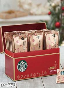 [선물 세트] 스타 벅스 2017 크리스마스 시즌 오리가미 스페셜 드립 커피 선물 세트 / SBH-35C 크리스마스 선물 / 스타벅스 선물 / 여친선물 / 남친 선물