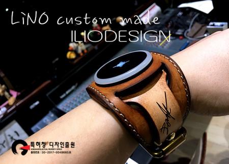 사운드브레너 펄스 드러머 리노 시그니처 커프스 밴드 리미티드 Soundbrenner Pulese Lino Park Signature Cuffs Band Limited edition