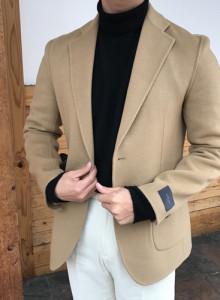 [heathen] 핸드메이드 싱글 자켓 (베이지)