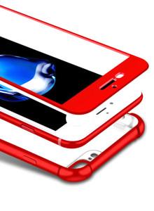 [아이폰7 6 S 플러스] 360도 풀커버 매트 에어백 케이스