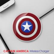 캡틴아메리카 무선충전기