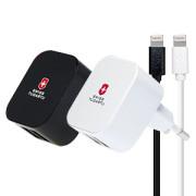 애플8핀 가정용충전기(2.4A/분리형/USB케이블포함)(화이트)