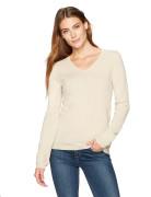 [미국] 라크앤로 100% 캐시미어니트 V-Neck Pullover Sweater Wheat