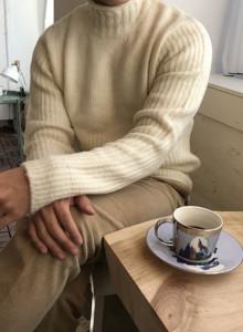 [sarto] 하프넥 스웨터 (3color)