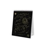 [라이플페이퍼]2018캘린더 (Rifle paper)2018 Constellations Desk Calendar