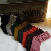 (겨울신상)듀디 코튼워머삭스[블랙, 겨자, 그레이, 그린, 먹색, 브라운, 오렌지, 핑크] S~L