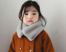 (겨울신상)본본 쁘띠 퍼 목도리[아이보리, 핑크, 그레이] free