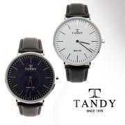 탠디 클래식 남성용 가죽 손목 시계 T-1512M...그 명성 그대로의 고급시계~ 백화점 판매 브랜드 TANDY ! [무료배송]