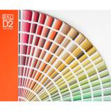 RAL 디자인 D2 (Semi Matt/반광/1625컬러/신판), 랄컬러칩, RAL칼라칩