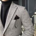 트위드 헤링본 수트 자켓 (2color)