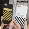 아이폰6/6s플러스 사선 스트랩 케이스 태슬 키링 커플